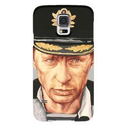 "Чехол для Samsung Galaxy S5 ""Путин "" - любовь, россия, путин, президент, моряк"