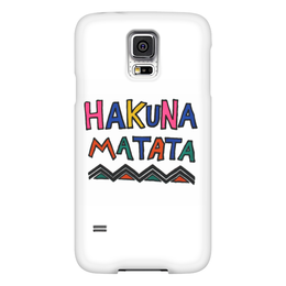 "Чехол для Samsung Galaxy S5 ""Акуна Матата"" - дисней, король лев, тимон и пумба, акуна матата, хакуна матата"
