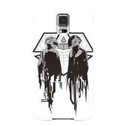 "Чехол для Samsung Galaxy S5 ""Daft punk"" - арт, daft punk"
