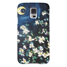 "Чехол для Samsung Galaxy S5 ""Лунный свет"" - красота, луна, жасмин, месяц, лунный свет"