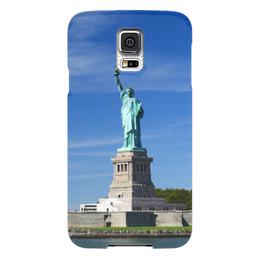 """Чехол для Samsung Galaxy S5 """"Статуя Свободы"""" - нью-йорк, америка, статуя свободы"""