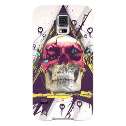 "Чехол для Samsung Galaxy S5 ""Skull in triangle"" - skull, череп, swag, иллюминаты, illuminati"