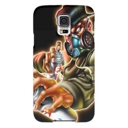 """Чехол для Samsung Galaxy S5 """"Чехолчик"""" - просто"""