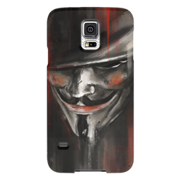 "Чехол для Samsung Galaxy S5 ""V for Vendetta"" - комиксы, dc comics, гай фокс, вендетта, vertigo"