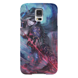 "Чехол для Samsung Galaxy S5 ""Sylvanas Windrunner"" - wow, blizzard, world of warcraft, варкрафт, сильвана"