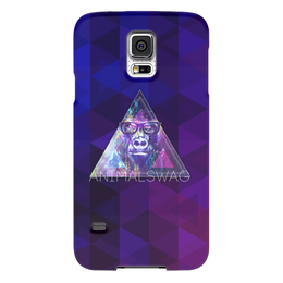 "Чехол для Samsung Galaxy S5 """"ANIMALSWAG II"" collection: Gorilla"" - swag, свэг, gorilla, горила"