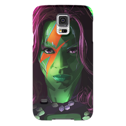 "Чехол для Samsung Galaxy S5 ""Гамора"" - комиксы, марвел, стражи галактики, guardians of the galaxy, gamora"