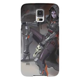 "Чехол для Samsung Galaxy S5 ""Жнец "" - blizzard, близзард, overwatch, reaper, овервотч"