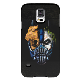 """Чехол для Samsung Galaxy S5 """"Джокер (Бэтмен)"""" - batman, джокер, бэтмен, mortal kombat, темный рыцарь"""