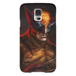 """Чехол для Samsung Galaxy S5 """"Росомаха"""" - комиксы, марвел, wolverine, логан"""