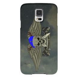 """Чехол для Samsung Galaxy S5 """"ВДВ !!!"""" - армия, нож, вдв, десант, голубой берет"""