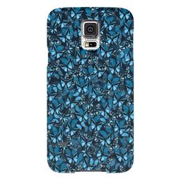 """Чехол для Samsung Galaxy S5 """"Papilionidae"""" - бабочки, природа, текстура, фон"""