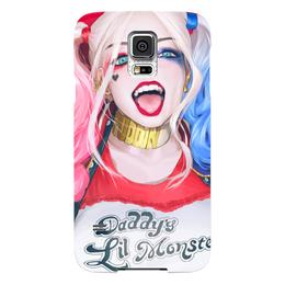 "Чехол для Samsung Galaxy S5 ""Отряд Самоубийц: Харли Квинн"" - харли квинн, harley quinn, отряд самоубийц, suicide squad"