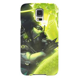 "Чехол для Samsung Galaxy S5 ""Гэндзи"" - blizzard, близзард, overwatch, овервотч, genji"
