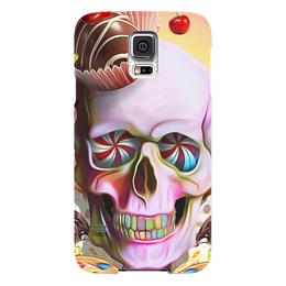 """Чехол для Samsung Galaxy S5 """"Sweet Skull"""" - skull, череп, сладости, печенье, пирожное"""