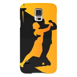 "Чехол для Samsung Galaxy S5 ""Танго в ночи"" - музыка, танец, ночь, танго"