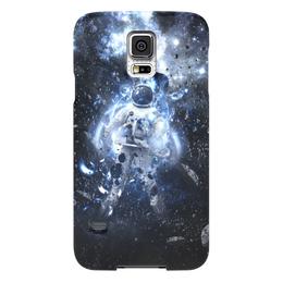 """Чехол для Samsung Galaxy S5 """"Астрнавт/космос"""" - арт, космос, астронавт"""