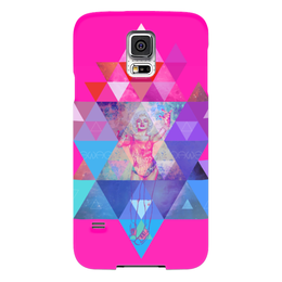 "Чехол для Samsung Galaxy S5 """"HIPSTA SWAG"" collection: Marilyn Monroe"" - swag, свэг, мэрилин монро, marilyn monroe"