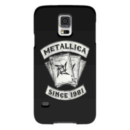 "Чехол для Samsung Galaxy S5 ""«Metallica: Since 1981»"" - metal, rock, metallica, legend, металлика, metallica since 1981, чехол для samsung galaxy s5"