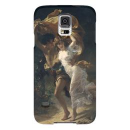 """Чехол для Samsung Galaxy S5 """"Буря (Пьер Огюст Кот)"""" - кот, картина"""