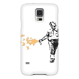 "Чехол для Samsung Galaxy S5 ""Buttercop"" - war, полиция, banksy, бэнкси, law"