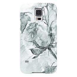 """Чехол для Samsung Galaxy S5 """"Сонет. Графика"""" - роза, нежность, акварель, розы, бутон"""