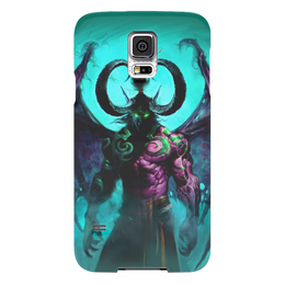 "Чехол для Samsung Galaxy S5 ""WarCraft Collection: illidan"" - wow, warcraft, world of warcraft, варкрафт, иллидан"