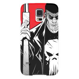 "Чехол для Samsung Galaxy S5 ""Каратель (The Punisher)"" - комиксы, каратель, дардевил, daredevil, сорвиголова"