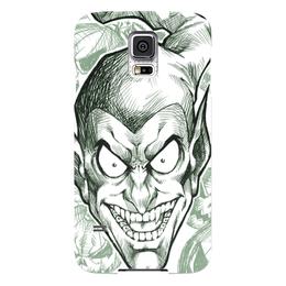 "Чехол для Samsung Galaxy S5 ""Зеленый гоблин"" - комиксы, spider-man, марвел, человек-паук, green goblin"