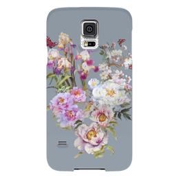 """Чехол для Samsung Galaxy S5 """"Цветочный букет."""" - цветы, flowers, живопись, букет"""