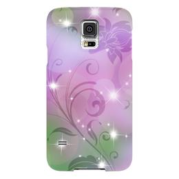 "Чехол для Samsung Galaxy S5 ""Лилия"" - цветок, лилия"