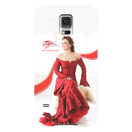 "Чехол для Samsung Galaxy S5 ""Tarja Turunen - Breath From Heaven - 10 лет"" - tarja turunen, tarja, тарья, тарья турунен, turunen"
