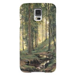 """Чехол для Samsung Galaxy S5 """"Ручей в лесу"""" - картина, шишкин"""