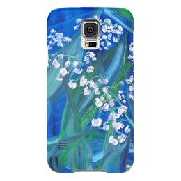 "Чехол для Samsung Galaxy S5 ""Сказка"" - весна, лес, красота, май, ландыши"