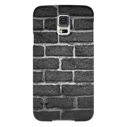 "Чехол для Samsung Galaxy S5 ""Кирпичный"" - арт, узор, рисунок, стена, кирпич"