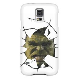 "Чехол для Samsung Galaxy S5 ""Hulk / Халк"" - комиксы, hulk, marvel, халк, kinoart"