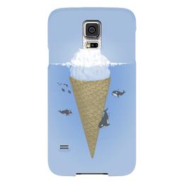 "Чехол для Samsung Galaxy S5 ""Мороженое"" - кит, мороженое, ice cream"