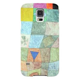 """Чехол для Samsung Galaxy S5 """"Товарищеский матч"""" - картина, клее"""