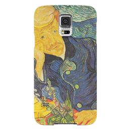 "Чехол для Samsung Galaxy S5 ""Портрет доктора Гаше (Винсент ван Гог)"" - картина, ван гог"