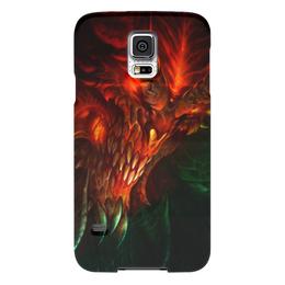 "Чехол для Samsung Galaxy S5 ""Diablo III"" - близзард, диабло, diablo, blizzard"