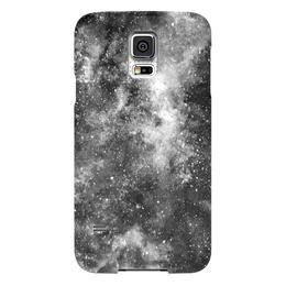 """Чехол для Samsung Galaxy S5 """"Космос (черно-белый)"""" - space, космос, вселенная, космический, galaxy"""