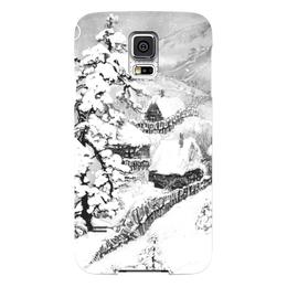 "Чехол для Samsung Galaxy S5 ""Зима "" - winter, зима, снег, snow"