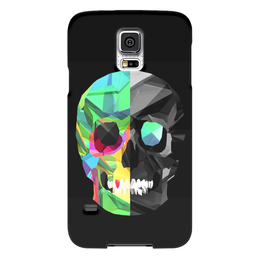 "Чехол для Samsung Galaxy S5 ""Digital skull"" - skull, череп, digital art"