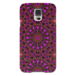 "Чехол для Samsung Galaxy S5 ""purple"" - арт, узор, фиолетовый, абстракция, фигуры"