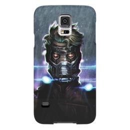 """Чехол для Samsung Galaxy S5 """"Star lord"""" - комиксы, марвел, стражи галактики, guardians of the galaxy, звездный лорд"""