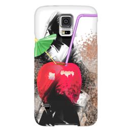 """Чехол для Samsung Galaxy S5 """"Яблочный микс"""" - фрукты, абстракция, яблоко, натюрморт, зонтик"""