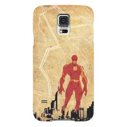 "Чехол для Samsung Galaxy S5 ""The Flash"" - сериалы, комиксы, dc, флэш, the flash"