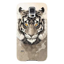 "Чехол для Samsung Galaxy S5 ""Тигр "" - арт, tiger, тигр"