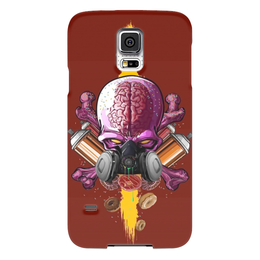"Чехол для Samsung Galaxy S5 ""Граффити Арт"" - skull, череп, граффити, краска, graffiti"