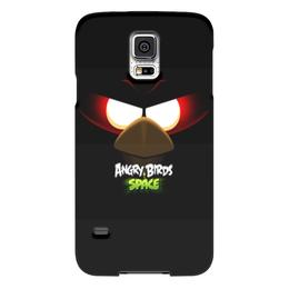 """Чехол для Samsung Galaxy S5 """"Space (Angry Birds)"""" - space, игра, мультфильм, птица, angry birds"""